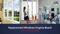 Looking for a siding installation service. We provide siding and replacement windows in Virginia Beach at affordable prices. Best Vinyl Siding, Window Company, House Siding, Warm In The Winter, Virginia Beach, Energy Efficiency, Windows And Doors, Save Energy