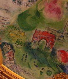 Tristan und Isolde, Marc Chagall (Opera Garnier, Paris)