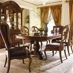 Ethan Allen Solid Maple Amp Birch Dining Table Amp Four Chairs