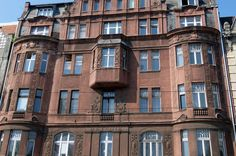 the front of villa Betania built in 1910 Ulica Kosciuszki,arch.R.Miller