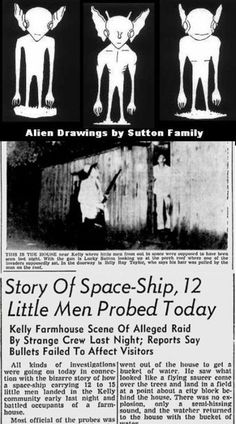 UFO Sightings - The Kelly–Hopkinsville UFO and More