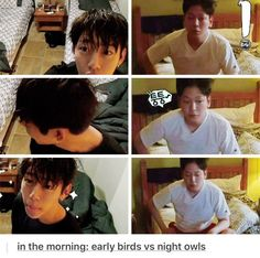 Daehyun and Himchan waking up in Hawaii  B.A.P. One Fine Day