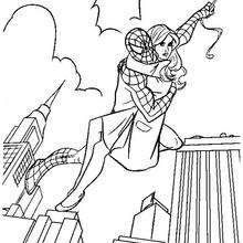 Spiderman scales walls coloring page. With a little imagination color this Spiderman scales walls coloring page with the most crazy colors of your . Avengers Coloring Pages, Superhero Coloring Pages, Spiderman Coloring, Disney Princess Coloring Pages, Disney Princess Colors, Coloring Pages For Teenagers, Coloring For Kids, Coloring Sheets, Coloring Books