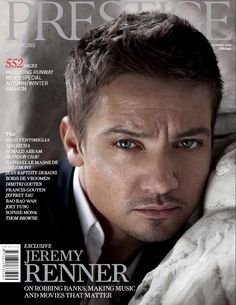 Jeremy Renner totally looks like Flynn rider doing the smoulder!