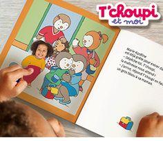 un livre personnalisé de tchoupi