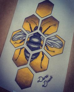 Fresh WTFDotworkTattoo Find Fresh from the Web Quick little bee from today  #bee…