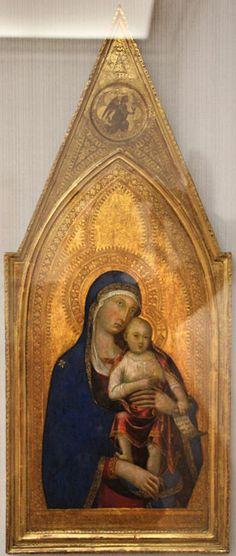 Lippo Memmi - Madonna col bambino - 1333 - Gemäldegalerie, Berlin