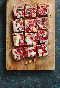 Summer Berry Custard Bars by Bakers Royale