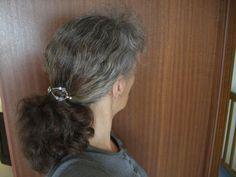 Sperwahtasou: Graue haare rauswachsen lassen strähnchen