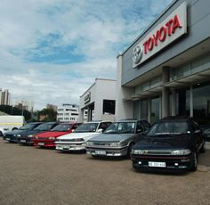 The kzn Fleet. Corolla Twincam, Toyota Corolla, Jdm Cars, Cars And Motorcycles, Motors, Tractors, Icons, Japanese, Technology