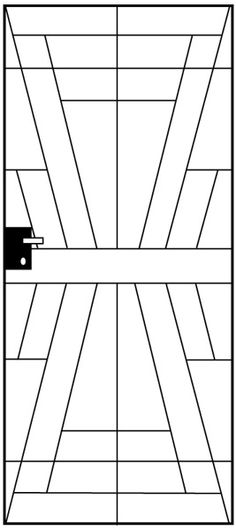 via BKLYN contessa :: art deco tile pattern idea or stamped for concrete