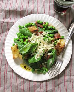Pea Salad with Bacon - Read More at Relish.com. Made this for Father's Day with fresh peas. Did not cook them. Oh, my! Delish!