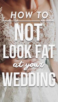 How To Not Look Fat At Your Wedding! Click through the slideshow for our stay-slim suggestions. Cute Wedding Ideas, Wedding Advice, On Your Wedding Day, Perfect Wedding, Wedding Planning, Wedding Inspiration, Magical Wedding, Wedding Weekend, Wedding Stuff