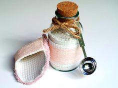 Spa Scrubbie and Tropical Bath Tea Soak! -