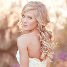 Art Wedding Hair hair-and-beauty Long Hairstyles, Pretty Hairstyles, Wedding Hairstyles, Romantic Hairstyles, Bridesmaid Hairstyles, Beach Hairstyles, Quinceanera Hairstyles, Bohemian Hairstyles, My Hairstyle