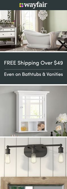 Sign up for access to exclusive sales, all at up to 70% OFF! Treat yourself to master bath must-haves! From double vanities to easy-install towels and the softest towels, we have everything you need to make your bathroom the best. At at prices this low, double up and treat guests to a 5-star experience! To top it off, we're offering FREE shipping on all orders over $49.
