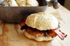 Sesame Seed Buns | Dixie Chik Cooks
