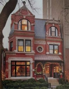 Chicago.....nothing like these beautiful homes...mostley Brownstones.