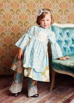 So Cute:  Damsel in Sky Knot Dress