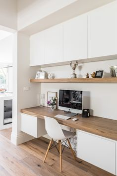 49 Stunning Small Home Office Furniture Design Ideas Home Office Furniture Design, Office Interior Design, Office Interiors, Interior Design Inspiration, Workspace Inspiration, Study Furniture Ideas, Office Designs, Furniture Projects, Furniture Plans
