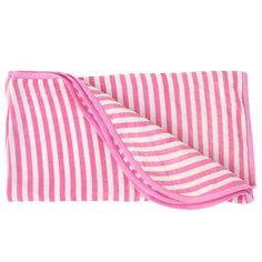 MIDWEIGHT MUSLIN ALWAYS BLANKET - PINK STRIPE   http://www.monicaandandy.com/accessories/midweight-muslin-always-blanket-pink-stripe.html