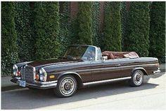 "doyoulikevintage: ""1972 Mercedes benz """