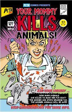PETA .. keeping it classy.
