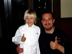 Great story about Jack's tenacity and optimism. Chef Jack and Fabio Viviani - one is a doll & an inspiration,  the other is the sexiest man in a chefs uniform today!