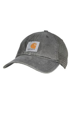 Carhartt Men's Gravel Buffalo Mesh Back Cap