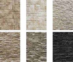Natural stones for walls or facade Interior Walls, Home Interior Design, Wall Design, House Design, Textured Walls, Home And Living, Decoration, Living Room Designs, Architecture Design
