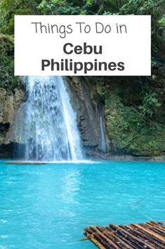 Things You Should Know About Things to Do in Cebu Philippines | Fun Things to Do in Cebu Philippines  Coron is simply beautiful, and there are plenty of things to do in Cebu,. There is beaches, dive with whale sharks and explore the waterfalls. Check out these things to Do in Cebu and make the most out of your time in Cebu Philippines  #philippines #cebu