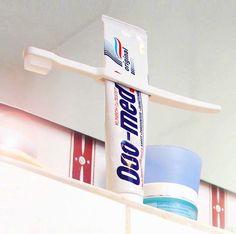 Tube Squeezing Toothbrush - genius