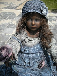 Powertex creaties Garden Art, Sculpture Art, Crafty, Hats, Pictures, Image, Felting, Statues, Concrete