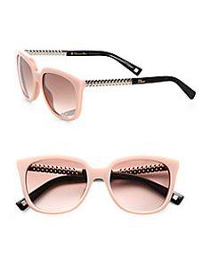 Dior - Braided Oversized Sunglasses