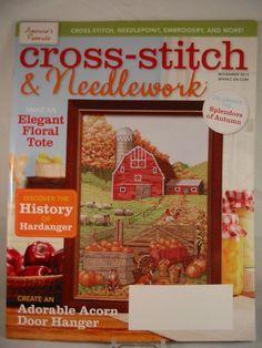 Cross Stitch & Needlework Magazine November 2013 Autumn Harvest Love New