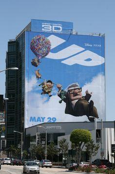 UP movie billboard