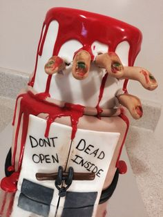 Walking Dead Zombie Cake *Sweet Fantasy Cake Co.*