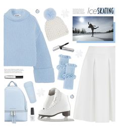 """IceSKATING"" by tamara-p ❤ liked on Polyvore featuring Jil Sander, Ted Baker, Rebecca Minkoff, Mischa Lampert, MICHAEL Michael Kors, Skagen, Bobbi Brown Cosmetics, ban.do and iceskatingoutfit"