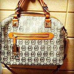 love my MK purse with orange trim