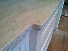Corian shoreline countertop