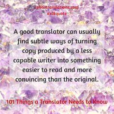 Recenzie: 101 Things a Translator Needs to Know