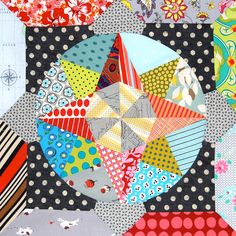 Amitie BOM the circle game by Lynne @ Lilys Quilts, via Flickr