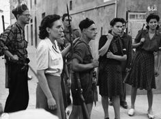 Group of Italian Resistance Fighters - Pistoia 1944   #TuscanyAgriturismoGiratola