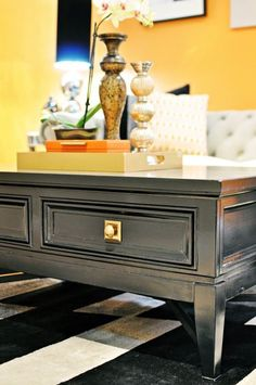 Coffee Table Style - Vintage - Living room - Photos by Nicole White Designs Inc.   Wayfair