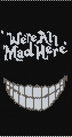 Alice in Wonderland X-stitch