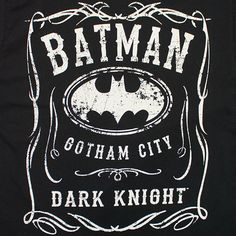 Buy the Batman Whiskey-Style Logo TShirt. $5.99 flat rate shipping for U.S. orders. Items ship within 24 hours.