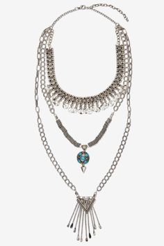 Raina Chain Necklace - Accessories | Necklaces