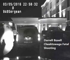 Darrell Bosell Cheektowaga Fatal Shooting. He's got a gun on me and outside.