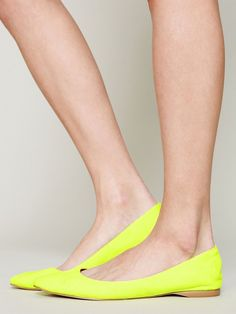 """""""Casey"""" flats by Coconuts by Matisse. The coral color is really pretty too."""