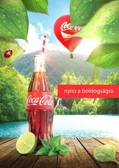 Coca-cola Flyer Photoshop Illustrator, Coca Cola, Classic, Illustration, Moon Art, Derby, Coke, Illustrations, Classic Books